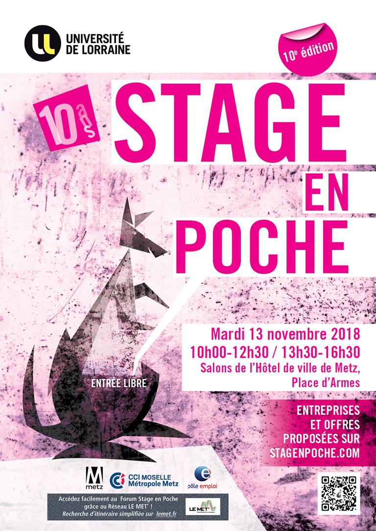 Stage en Poche Metz